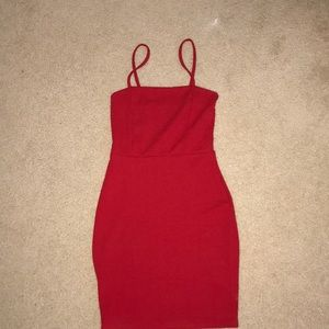 Cute little red dress from boohoo!! Never worn!